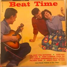 "BEAT TIME JEAN-CLAUDE PELLETIER ET LES ""FANS"" GREAT 60s TEENAGER COVER FRENCH EP"