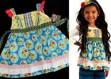 Nwt Matilda Jane Wonderful Parade Sz 8 Love Bug Strawberry Knot Top New