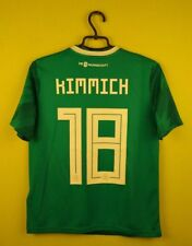 Germany jersey shirt #18 Kimmich 2018 Away adidas football soccer Kids 13-14 y.