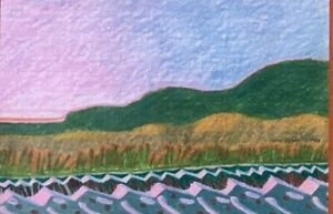 "Carol Sklar Print of a Painting ""McInnis"""