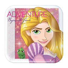 TANGLED Dream Big SMALL PAPER PLATES (8) ~ Birthday Party Supplies Cake Dessert