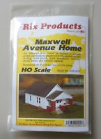 MAXWELL AVE HOUSE ONE STORY HO 1:87 SCALE LAYOUT DIORAMA PIKESTUFF RIX 202