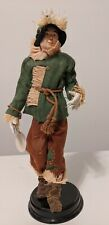 The Wizard Of Oz Porcelain Doll Collection Scarecrow