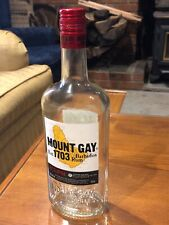 Empty 750mL Bottle, Mount Gay Eclipse Barbados Rum 40%