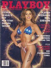 PLAYBOY JULY 1995-A - HEIDI MARK - SANDRA TAYLOR NUDE !!!