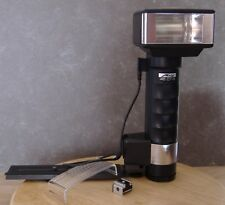 Metz 45CT-1 Mecablitz Flash stick - handle mount with camera bracket, etc.