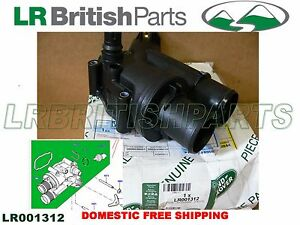 GENUINE LAND ROVER THERMOSTAT AND HOUSING WITH SENSOR LR2 2.2L NEW LR001312