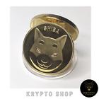 Shiba Inu Coin Gold Krypto Münze Geschenk NEU