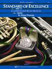 """Kjos """"Standard Of Excellence"""" Alto Saxophone Music Book 2 Brand New Sax On Sale!"""