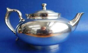 Genuine Australian Robur Perfect Challenge EP Silver Teapot c1950s