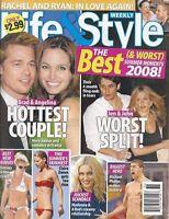 Life & Style Magazine September 8 2008 Brad Pitt Angelina Jolie Madonna