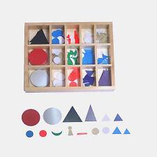 Montessori: Wortsymbole im Holzkasten zur Wortartenbestimmung