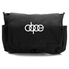 Dope Audi Car Heavyweight Canvas Messenger Shoulder Bag