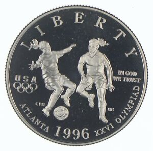 1996-S XXVI Olympiad Commemorative Half Dollar - Walker Coin Collection *969
