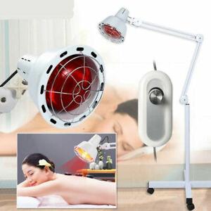 Infrarotlampe Strahler Wärmelampe Rotlicht Stand TDP Lampe für Behandlung 275W
