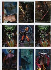 Star Wars Chase Insert Card Lot (Various Sets) 9 rare Cards