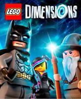(U Choose) Lego Dimensions Fun Level Pack Witch Emmet Gollum Bart Ninjago Chima