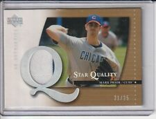 Mark Prior Cubs 2003 UD Authentics Star Quality Game-Used Jersey #21/25