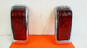 1946-48 DeSoto Tail Lights Glass Lens HOT RAT ROD 1930's 1940's 1950's CHEAP PR.