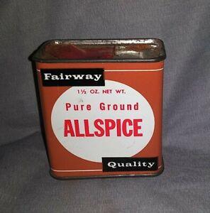 Fairway Pure Ground Allspice Tin 1-1/2 oz.