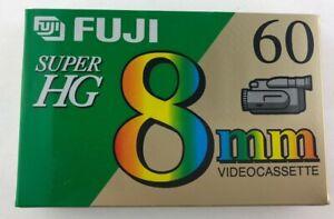 Fuji 8mm Super HG 60 P6-60 DS N Videocassette Blank Tape