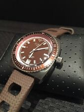 Zodiac ZO2268 Sea Dragon Unisex Brown Watch stunning!