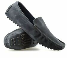 Mens New Leather Suede Slip on Casual Mocassin Designer Loafer Driving Shoes Sz