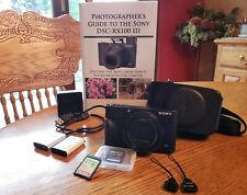 Sony DSC-RX100 III - 2 Batteries + 2 SD Cards + 493 Page Book!