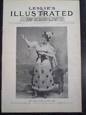 Zelie De Lussan Metropolitan Opera New York City Frank Leslie's 1894 Original