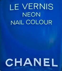 chanel nail polish Electric neon rare limited edition 2017 BNIB