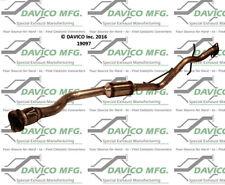 Catalytic Converter-Exact-Fit Rear Davico Exc CA 19097