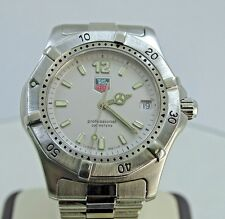 Tag Heuer 2000 Professional Silver Dial Stainless WK1112 Quartz Watch