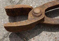 alte Schmiedezange Zange Schmied Nr. 2297/04 ca. 60 cm