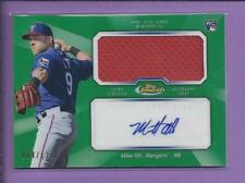 *2013 topps finest Rookie Autograph Jumbo relic MIKE OLT no.AJR-MO2 rangers