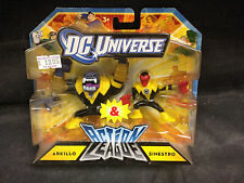 DC UNIVERSE ACTION LEAGUE ARKILLO VS SINESTRO FIGURE SET MATTEL WB JLA JLU GL