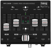 IMG Stage Line MPX-20 USB 3-Kanal-Stereo-DJ-Mischpult 17-207