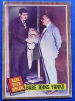 BABE RUTH New York Yankees 1962 Topps Babe Joins Yanks #136