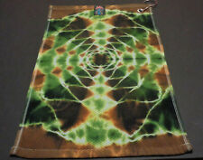 "`New Disc Golf Tye Dye Towel-11"" x 17"". 100% Cotton`"