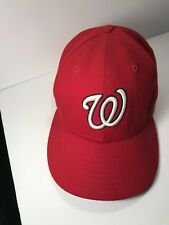 New Era 59Fifty Washington Nationals Fitted 7 1/8 Hat on field MLB Baseball Hat
