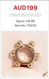 PANDORA GENUINE RETIRED 14k Gold Spacer - 750218