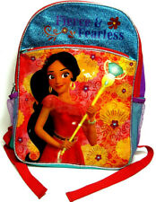 "Disney Elena Avalor 16"" Large Light Up Girls Kids School Backpack"