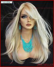McKenzie  MONOPART WIG BY ENVY *COLOR LIGHT BLOND NEW AUTHENTIC
