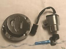 New Victory Polaris 03-05 Chrome Fuel Gas Cap And Ignition Switch 4011048