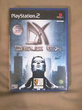 Deus Ex (Sony PlayStation 2, 2002) NO INSTRUCTION BOOKLET Good condition!