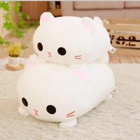 Kawaii Lying Cat Plush Soft Pillow Cute Stuffed Animal Toys Doll Lovely Kid Girl