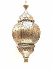Moroccan Lamp Style Pendant Metal Ceiling Light Hanging Lantern Lamp Zenda Imp.
