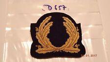 Marine und Handelsmarine Abzeichen Mützenkranz golden 1 Stück (sd657)