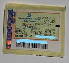 Marche da Bollo originale e valide anno 2011data 28.01.2011 € 14,62