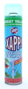 PACK OF 4 x Xanto Power Activ Window & Glass Cleaner