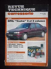 Revue technique carrosserie n°125 05/1990 Opel Vectra 2 et 3 volumes